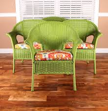 Pier 1 Rocking Chair Set Of Casbah Green Stacking Chairs From Pier 1 Imports Ebth