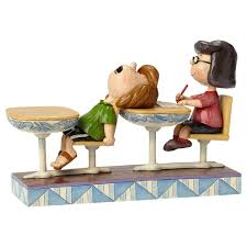 jim shore halloween figurines jim shore peanuts days with marcie and peppermint patty