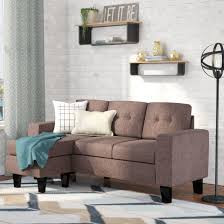 tips u0026 ideas small scale leather sectional small scale