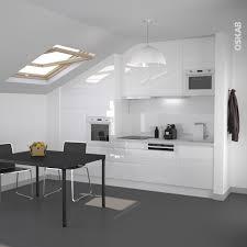 cuisine blanc mat sans poign cuisine blanche sans poignée ipoma blanc brillant plans de travail