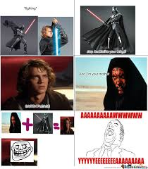 Anakin Skywalker Meme - true story of anakin skywalker by memeforlife 1411 meme center