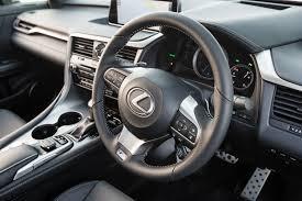 new lexus rx200t 2016 lexus rx turbos get new sport packages automotorblog