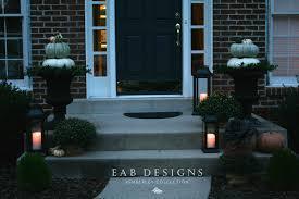 eab designs pumpkin topiaries u0026 our fall porch