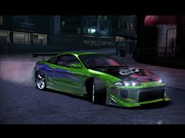 mitsubishi eclipse tuned need for speed carbon mitsubishi mitsubishi eclipse gsx nfscars