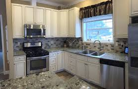 pictures of kitchens with antique white cabinets beautiful antique white kitchen cabinets cumberland antique white