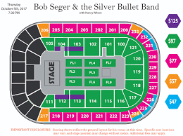 Pepsi Center Seating Map Postponed Bob Seger U0026 The Silver Bullet Band Bon Secours