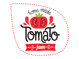 tomato jam label on behance