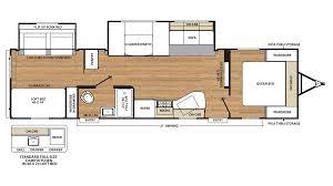 Camper Trailer Floor Plans Travel Trailer Bunkhouse Floor Plans