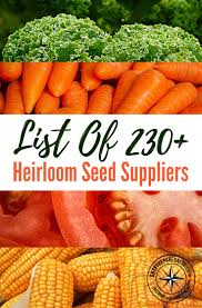 Winter Root Vegetables List - list of 230 heirloom seed suppliers u2014 winter is here and that
