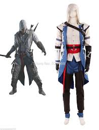 Ezio Halloween Costume Assassin Creed Ezio Brotherhood Cosplay Costume Halloween Ezio