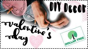 Valentine S Day Decor Dollar Tree diy dollar tree valentine u0027s day decor diy valentine u0027s day decor