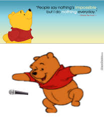 Drop Mic Meme - pooh drops the mic by toaditity meme center