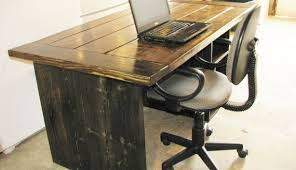 Rustic Office Desk Looking Rustic Home Office Desk Desks The Mile Crafts