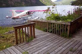 file float plane by lake cabin deck jpg wikimedia commons