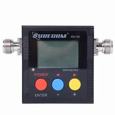 Radio Frequency Display Sw 102 Mini Handheld Portable Frequency Meter Lcd Display