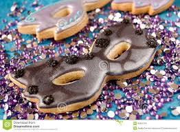 masquerade cookies masquerade mask cookies stock photo image of purple 46651004