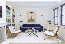 Livingroom Nyc Small Apartment Design Ideas Architectural Digest