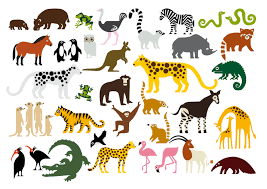 zoo animals clipart with names clipartxtras