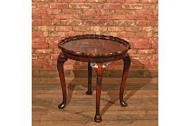 pie crust end table victorian pie crust coffee table c 1900 vinterior