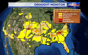 United States Drought Map by What Can We Expect Weather Wise From The Month Of April Wnct