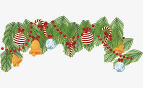 golden bell christmas border vector png christmas christmas