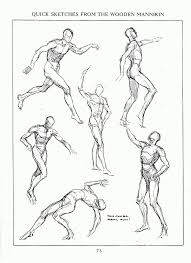 Anatomy Of Human Body Sketches 51 Best Art Illustration Body In Motion Posed Images On