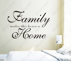 family home wall quotes decal removable stickers decor vinyl diy