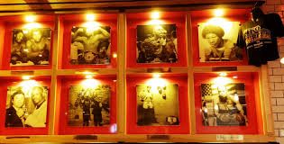 tko burger boxing wall of fame man talk food