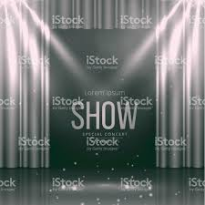 Stage With Curtains Theater Stage With Curtains Stock Vector Art 848147216 Istock
