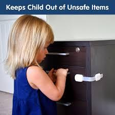kitchen cupboard door child locks multifunctional child safety locks 8 pack