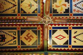 pueblo deco ceiling shaffer hotel s dining room ceiling you can pueblo deco ceiling shaffer hotel s dining room ceiling you can stare at it