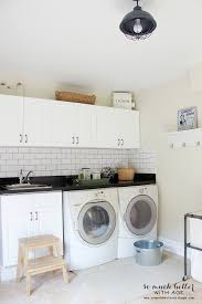 Decorated Laundry Rooms My Laundry Room Before And After So Much Better With Age