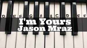 ukulele keyboard tutorial i m yours jason mraz easy keyboard tutorial with notes right