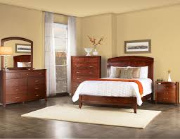 Cherry Wood Sleigh Bed Modus Brighton Low Profile Sleigh Bed In Cinnamon Beyond Stores