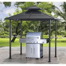 stc monte carlo gazebo with hard top roof walmart com