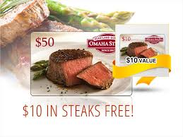 omaha steaks gift card omaha steaks 50 gift card email delivery neweggflash