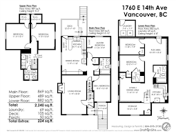 Grandview Homes Floor Plans by Real Estate Listings Grandview Houses Vancouver Canada Homes
