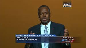 ben carson presidential bid ben carson presidential caign announcement user clip c span org