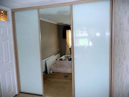 glass mirror wardrobe doors classic sliding wardrobe doors