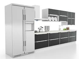 Modern Corner Kitchen Cabinet Ideas D Model Ds Max Files Free - Models of kitchen cabinets