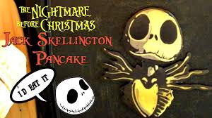 jack skellington pancake art youtube