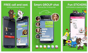 free chat for android line free calls sms app