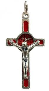 rosary crucifix enamel holy spirit rosary crucifix