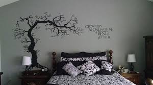 twisted tree with roots stencil design from stencil kingdom