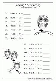 fun math worksheets for kids animal jr