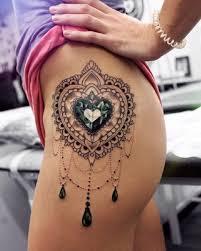 die besten 25 diamant tattoos ideen auf pinterest diamant herz
