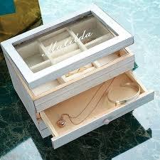 personalized wooden jewelry box personalized wooden jewelry box jaylimdesign