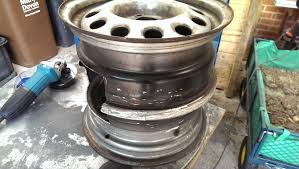 Welded Fire Pit How To Make A Steel Wheel Fire Pit Swdubs Blog