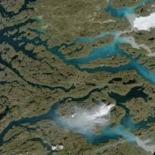Fires In New Mexico Map by Fire And Ice In Greenland Natural Hazards