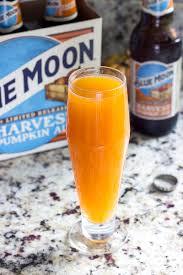 pumpkin beer cocktail pumpkin beermosa